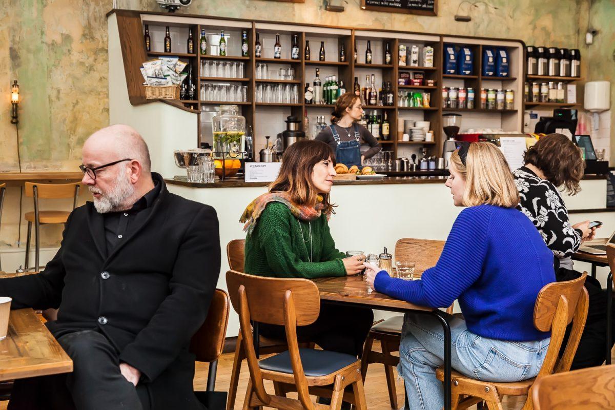 Cafe and bar interior