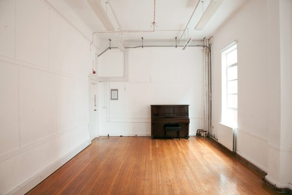 Interior of Studio 5 at Toynbee Studios