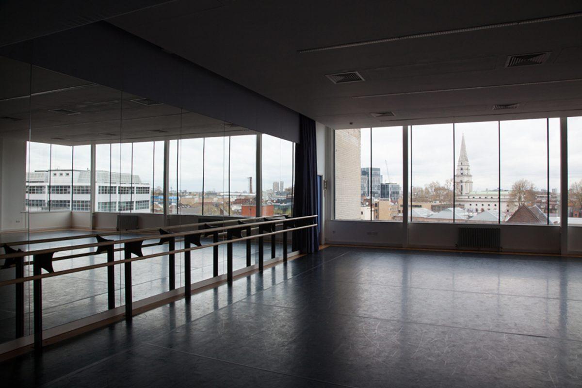 Interior of the Steve Whitson Studio at Toynbee Studios