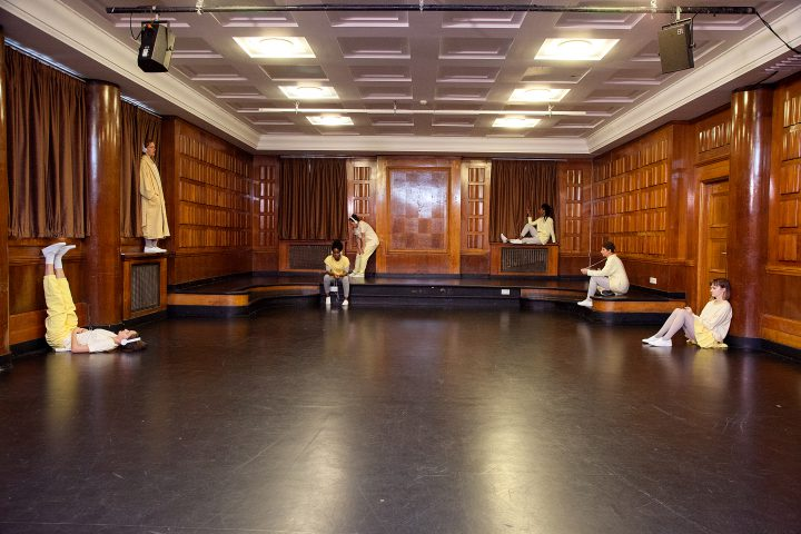 Interior of the Court Room at Toynbee Studios
