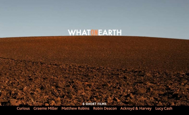 What On Earth - Curious, Graeme Miller, Matthew Robins, Robin Deacon, Ackroyd & Harvey, Lucy Cash