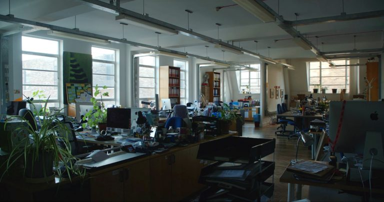 View of the Artsadmin office