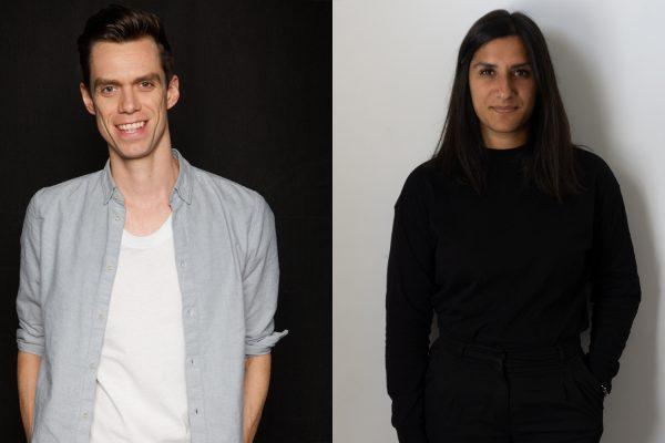 Portraits of Michael Norton and Reena Kalsi
