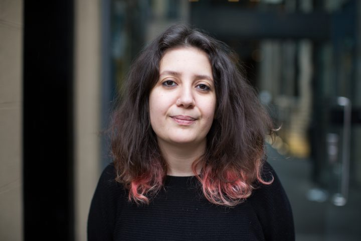 A portrait of Sara Shaarawi